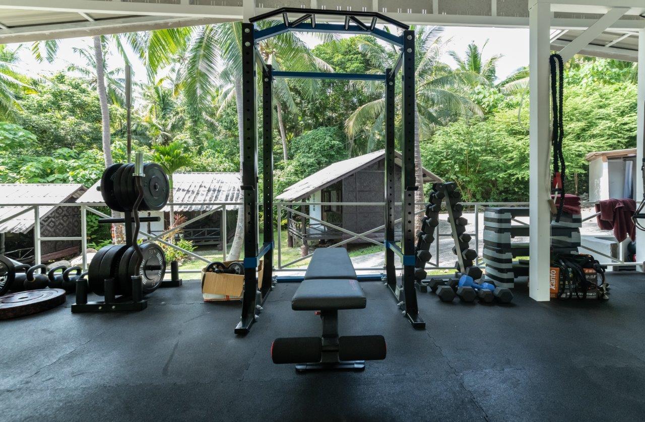 Shot of Gym!