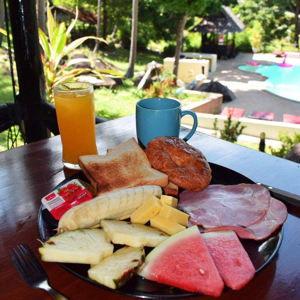 Continental breakfast!